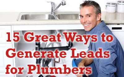 15 Great Ways to Generate Leads for Plumbers