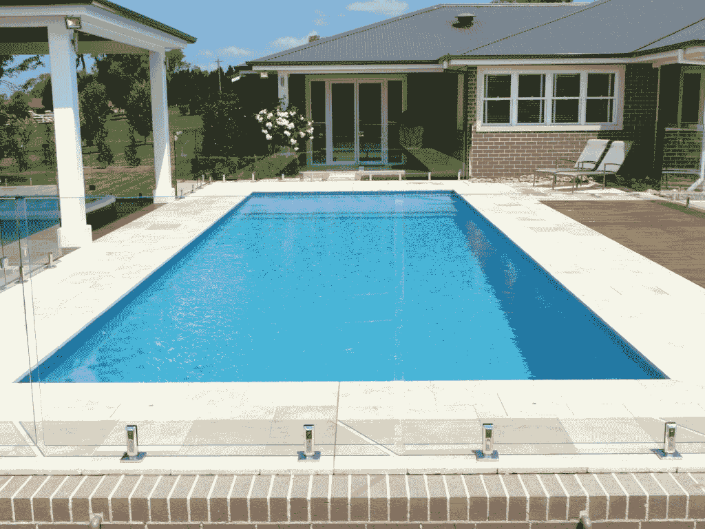 Swimming Pool Front View